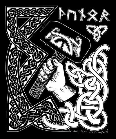 Thunor or Thor image
