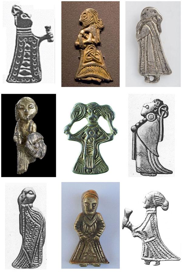 Disir Viking Era Brooches
