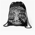 Yggdrasil - The World Tree Drawstring Bag