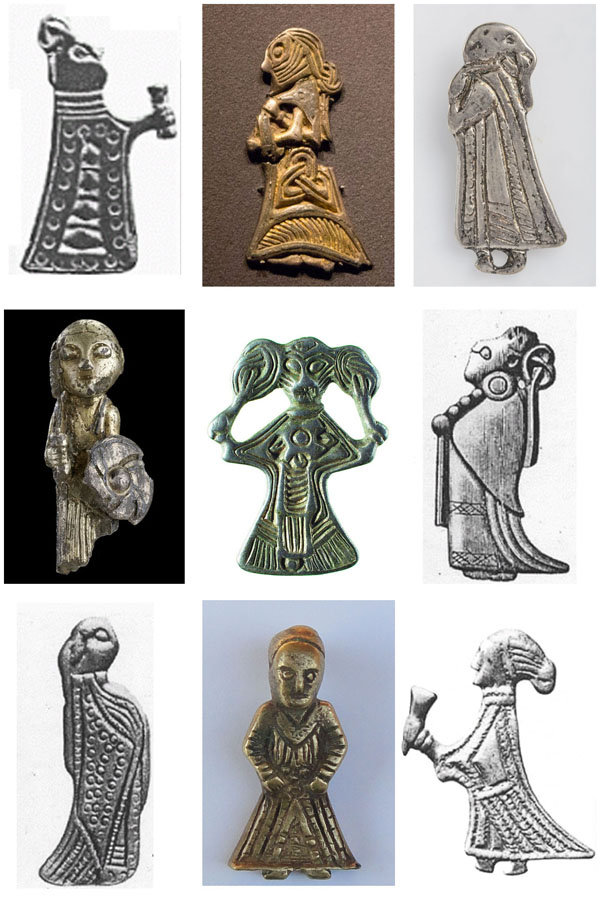 Disir Viking Era Brooches