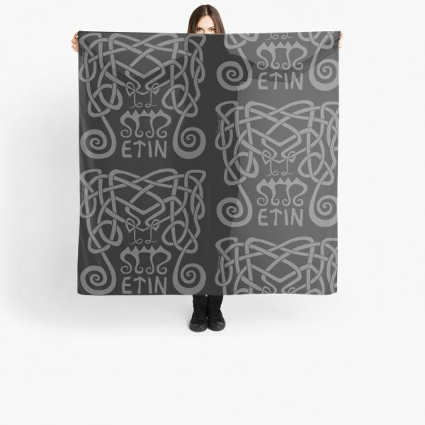 Etin Scarf by The Crow's Fjord
