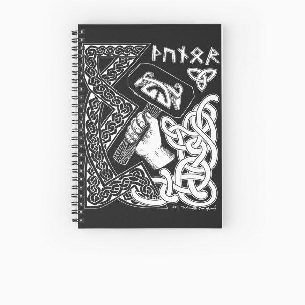 Thunor Spiral Notebook