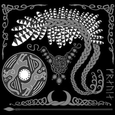 Freyja design in grey