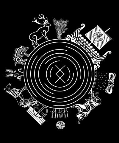 Freyr God of the World artwork